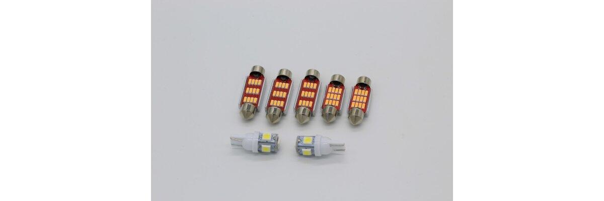 Neu im Shop: LED-Umrüstkits für VW T4 -
