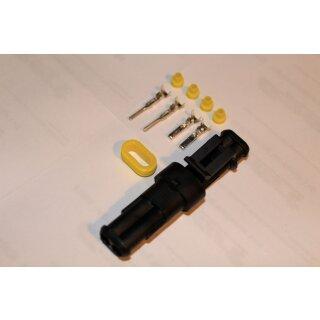 AMP Superseal Steckverbindung Set 2-polig