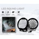 "AURORA LED round light, 7"", 170W"