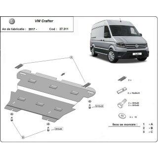 VW Crafter (2017-) Unterfahrschutz