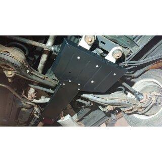 VW T4 Heckdifferential-Unterfahrschutz