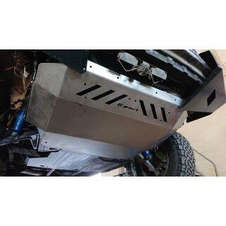 Motor Unterfahrschutz Edelstahl, 3mm