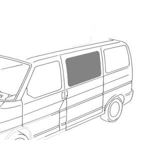 VW T4 Schiebefenster Mitte Fahrerseite, leicht getönt
