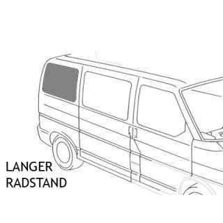 VW T4 Schiebefenster hinten Beifahrerseite LR, getönt
