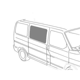 VW T4 Seitenscheibe Mitte Beifahrerseite, getönt