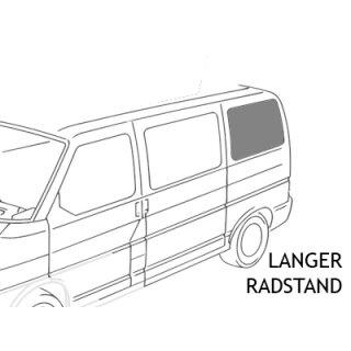 VW T4 Seitenscheibe hinten Fahrerseite LR, getönt